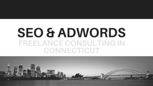 SEO & GOOGLE ADWORDS FREELANCE CONSULTANT