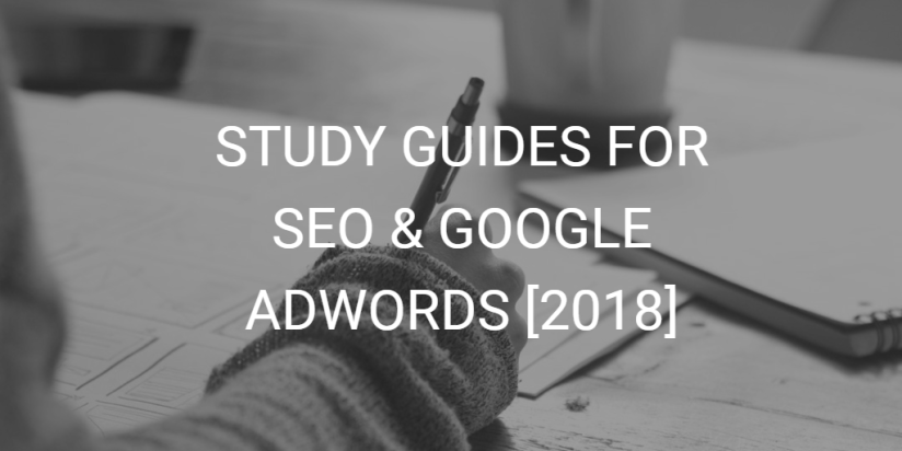 SEO and AdWords Study Guides